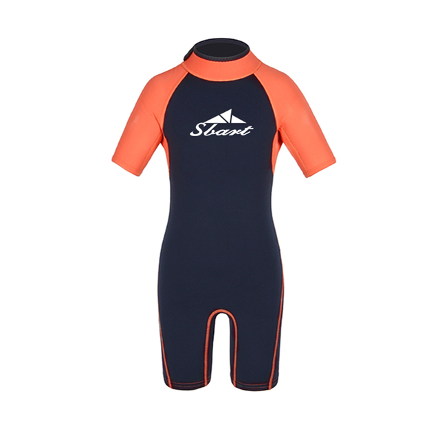 c12821f515 US $18.19 30% OFF|Kids Wetsuit for Swim Surf Snorkel Dive 2mm Premium  Neoprene/Lycra Shorty Full Suit for Baby/Children/Youth Boys or Girls S  4XL-in ...