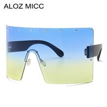 ALOZ MICC Fashion Rimless Oversized Gradient Sunglasses Women Men 2019 Summer Style Brand Designer Female Sun Glasses UV400 Q671