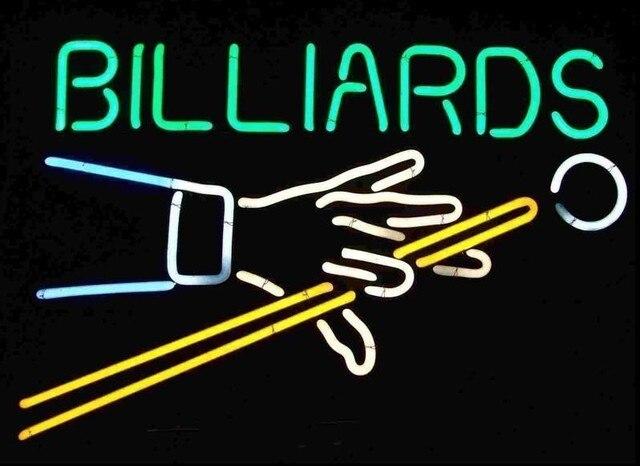 Custom Billiards Game Room Neon Light Sign Beer Bar