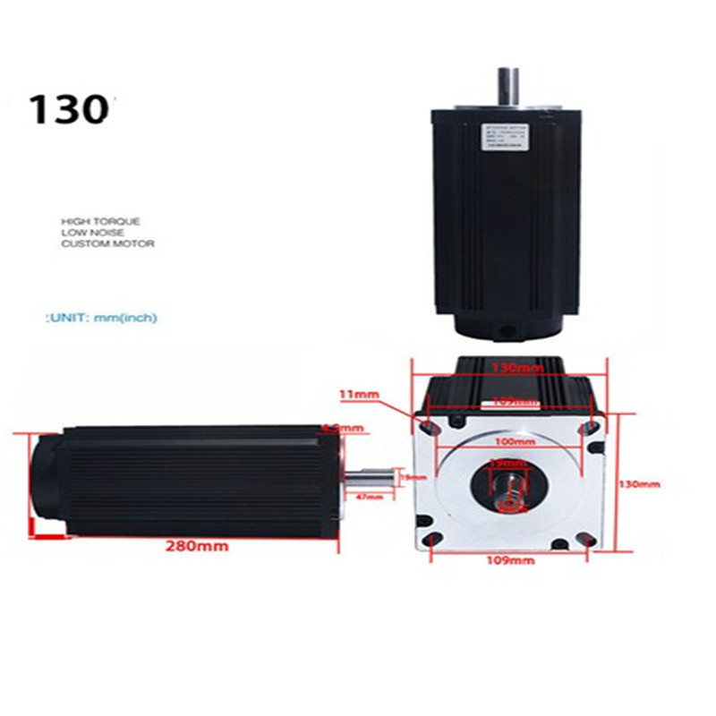 Image 2 - 130 stepper motor suit 130 byg350d torque 50 n. M drive 3 nd2283 10 a mealStepper Motor   -