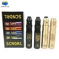 Nuevo cigarrillo electrónico SCNDRL Estilo mod 18650 kit de Cigarrillo Electrónico 510 hilo Mecánico Mod con Atomizador RDA e-cigarrillo kit
