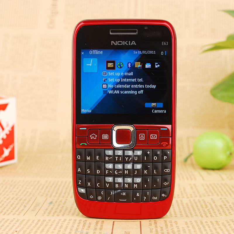 e63 unlocked nokia e63 qwerty keyboard wifi bluetooth gsm 3g rh aliexpress com