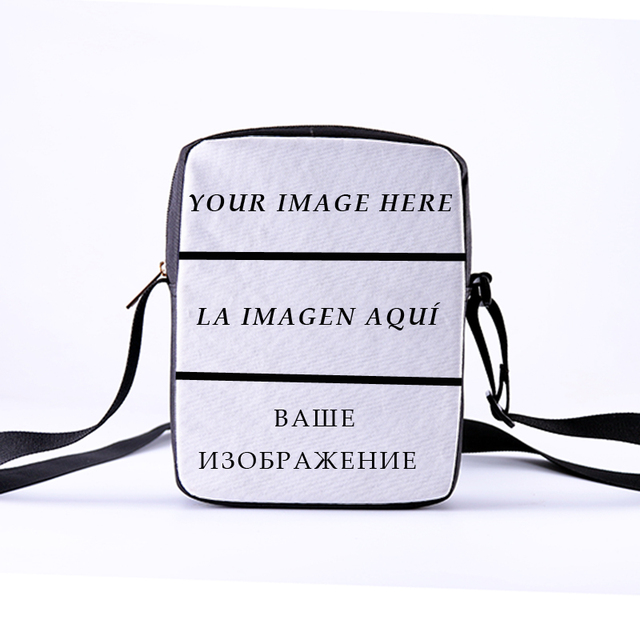 a96568baba CROWDALE DIY Customize Crossbody Bags new design messanger bag 3D Customize  Personalized Pattern Ladies Crossbody bag