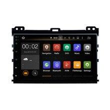 RAM 2GB Android 7.1 Fit Toyota PRADO 2002 2003 2004 2005 2006 2007 2008 2009 Car DVD Player Navigation GPS Radio