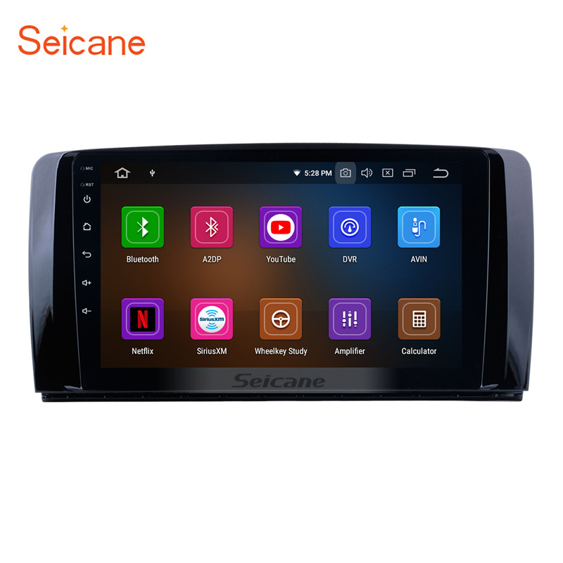 Seicane 9 Inch Android 9 0 IPS Car Stereo For 2006 2013 Mercedes Benz R Class