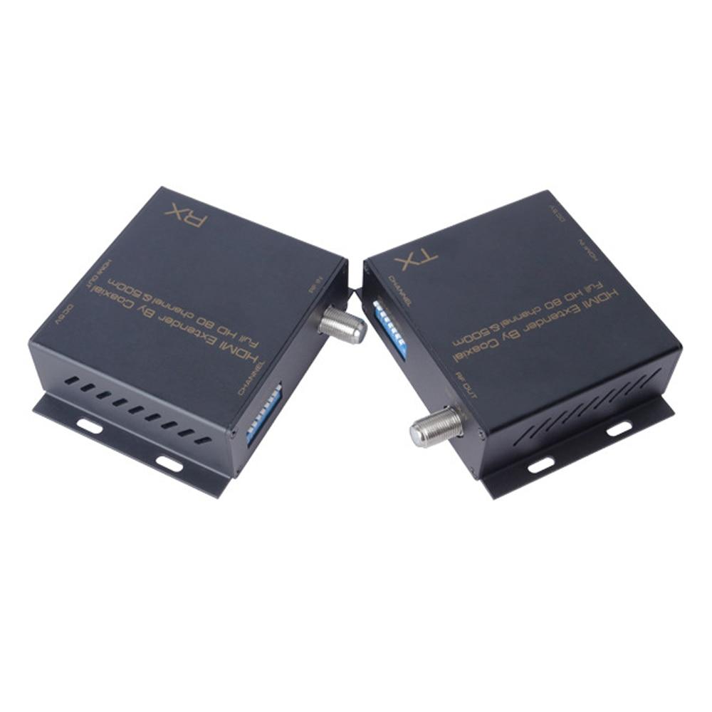 Modulateur HDMI DVB-T convertisseur de matrice séparateur HDMI Extender numérique DVB-T Coaxial HDMI à DVB-T modulateur TV récepteur sortie RF