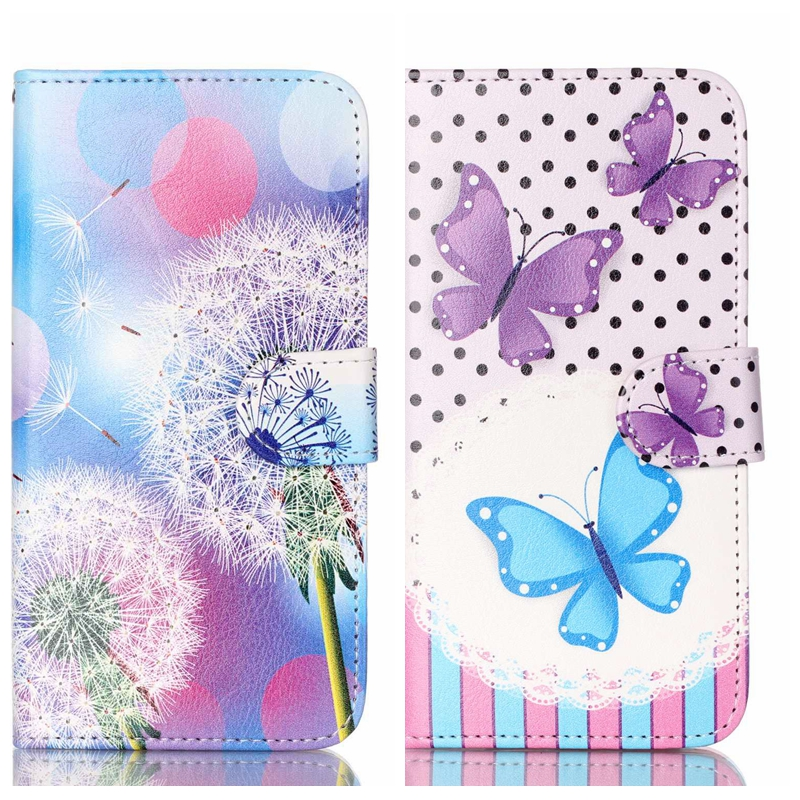 Misolocat for Samsung Galaxy A3 2016 A3100 Case Flip Cover Stand Cases PU Leather Wallet Card Pocket Owls Cat Bear Dandelion