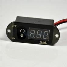 Два в одном 5A UBEC переключатель с цифровым дисплеем Напряжение 4 13 в ток 0 5 А