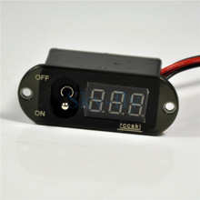 Dwa w jednym 5A UBEC wyświetlacz cyfrowy przełącznik napięcie 4 13 V prąd 0 5A