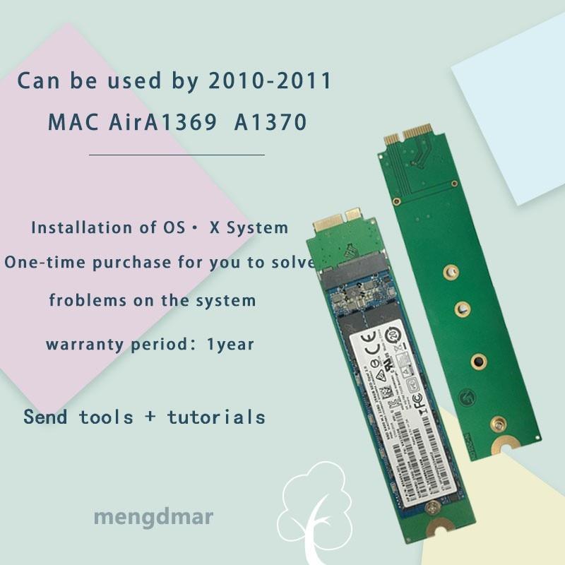NOUVEAU SSD Pour 2010 2011 Macbook Air A1369 A1370 DISQUE SSD MC503 MC504 MC505 MC 506 MC965 MC966 MC968 MC969 SSD