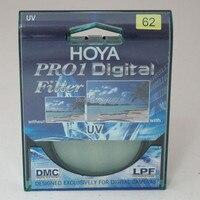 Hoya pro1 digital uv 62mm optische glazen lens protector ultra violet uv filter mrc circulaire filtre uv voor slr camera lens