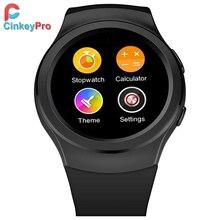 CinkeyPro Reloj Inteligente G3 Tarjeta SIM smartwatch Podómetro Del Ritmo Cardíaco Infrarrojo Notificador de Artes de Samsung S2 S3 iPhone de Apple Android
