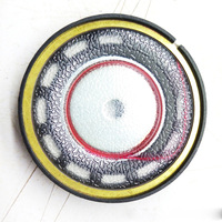 1Pair Speaker Unit Driver Diameter 40mm 260ohm High Impedance Replacement Repair Diy Parts for Headset