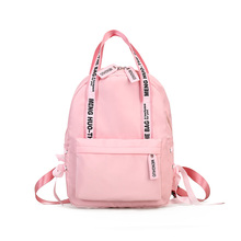 Menghuo Large Capacity Backpack Women Preppy School Bags For Teenagers Female Nylon Travel Bags Girls Bowknot Backpack Mochilas forudesigns fruit pineapple large capacity backpack women preppy school students for teenagers travel bags girls laptop mochila