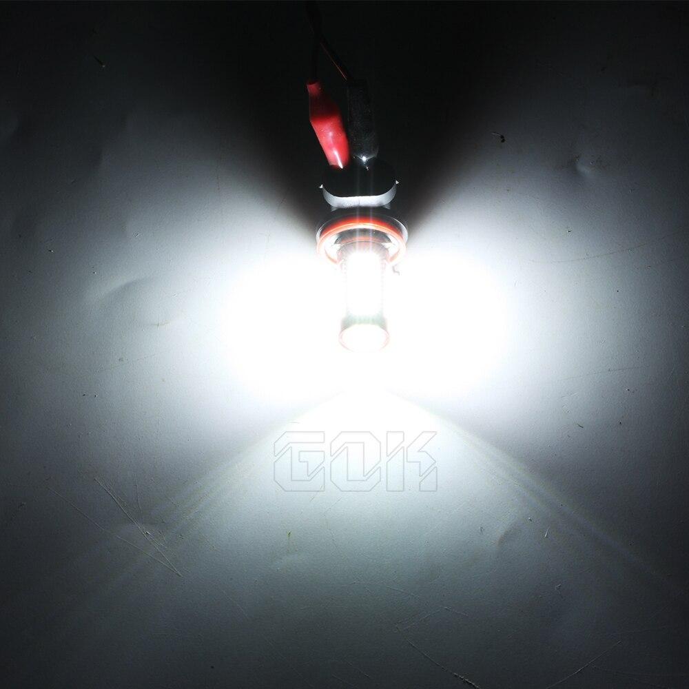 1 개 화이트 LED H11 H8 LED 106smd 4014 HB3 / 9005 H7 9006 HB4 LED - 자동차 조명 - 사진 3