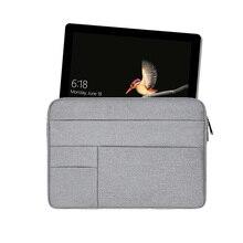 Wodoodporna torba na tablet dla microsoft surface Pro 6 5 4 worek Case 12 cal pokrowiec na laptopa dla microsoft surface Go rękaw pokrowiec