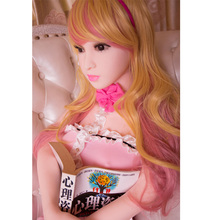 140 cm Pink Dress Life Size Sex Dolls Lifelike Real Silicone Mini Love Doll With Big