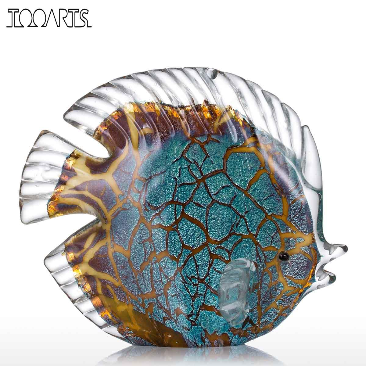 Online buy wholesale art glass figurines from china art for Wholesale tropical fish