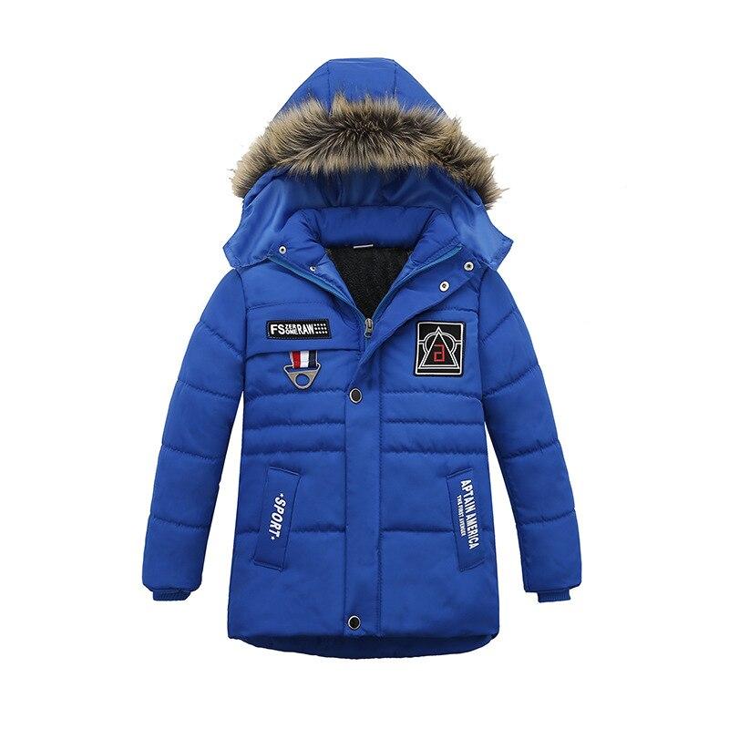 Casaco de inverno Quente Criança Crianças Outerwear Roupa Dos Miúdos Das Meninas Dos Meninos Do Bebê À Prova de Vento Jaquetas Para 2-6 Anos de Idade