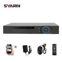 Syarin Главная видеонаблюдения AHD 1080n 16ch видеорегистратор Цифровой Регистраторы 16 каналов WI FI Гибридный видеонаблюдения DVR NVR 16ch 1080 P HDMI