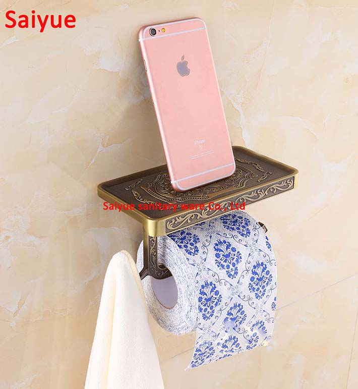 Carving washroom lavatory WC kitchen Chrome/Antique Brass/gold/rose gold/Toilet roll Paper Holder Wall Mount paper for bathroom anon маска сноубордическая anon somerset pellow gold chrome