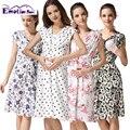 Emoción Mamás ropa de verano de maternidad ropa de enfermería vestido de enfermería Lactancia Vestido para Las Mujeres Embarazadas vestidos de maternidad
