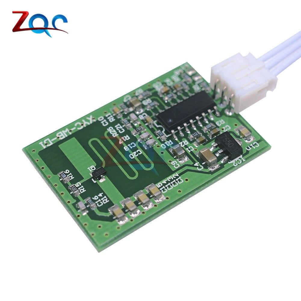 LED Microwave Sensor DC Microwave Radar Sensing Module 4-8M Home Control Body Motion Detector Light Switch dc 12v led display digital delay timer control switch module plc automation new
