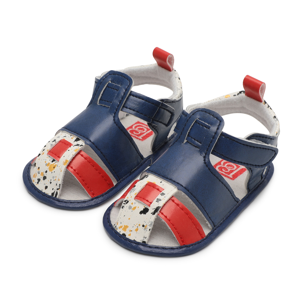 Summer Boy Girl Sandals Bebe Fashion Baby Sandals Shoes Infant PU Non-Slip Baby Moccasins Shoes 0-18 Months