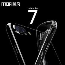 MOFI Премиум Анти стук защитный чехол для iPhone 7 7 Plus Оригинальный бренд 4.7 5.5 В Силиконовая задняя противодетонационный ультра тонкий Ясно