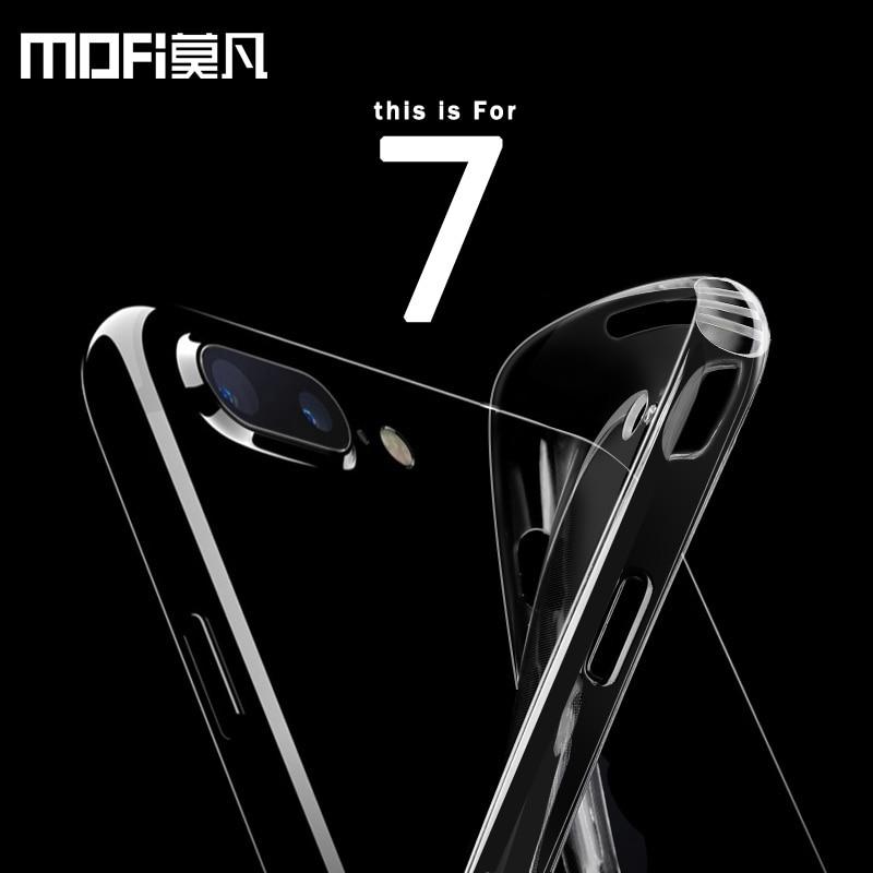 MOFi Premium Anti Knock protection case for iphone 7 7 plus original brand 4.7 5.5 in silicone back anti knock ultra thin clear