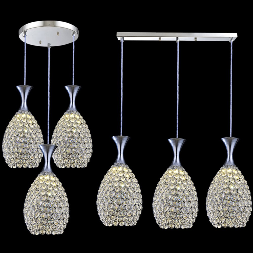 New Modern Crystal Vase Dining Room Pendant Light Living Room Luxury Pendant Light Fashion Crystal Hallway Corridor Hanging Lamp a1 master bedroom living room lamp crystal pendant lights dining room lamp european style dual use fashion pendant lamps