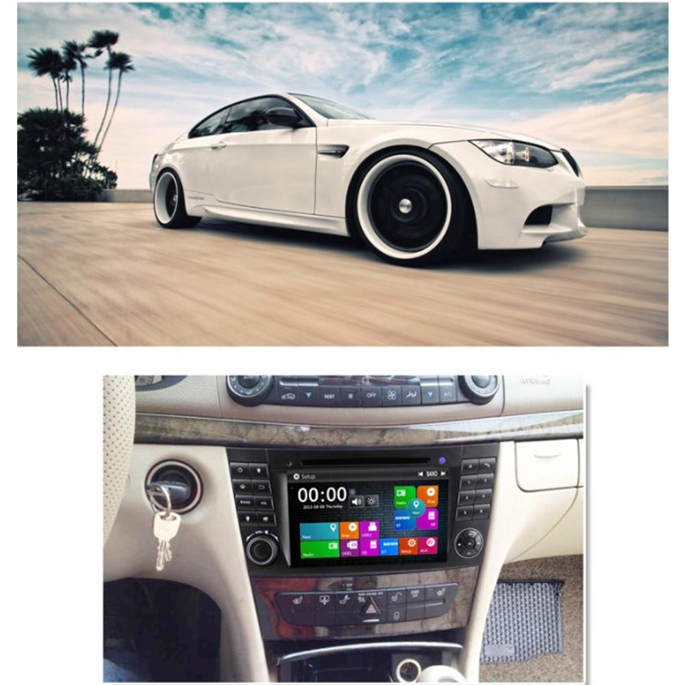 Image 4 - Eunavi 2 Din Car DVD Radio Player GPS navigation for Mercedes/Benz W211 W219 W463 CLS350 CLS500 CLS55 E200 E220 E240 E270 E280Car Multimedia Player   -