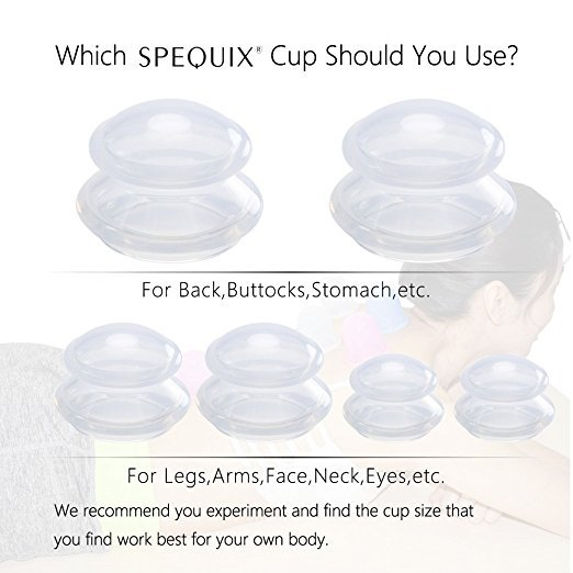 Silicone Cupping Therapy Set Anti-Slip Silicone Massage Cups Chinese Silicone Masajeador Cups for Anti-aging With Storage Bag 3