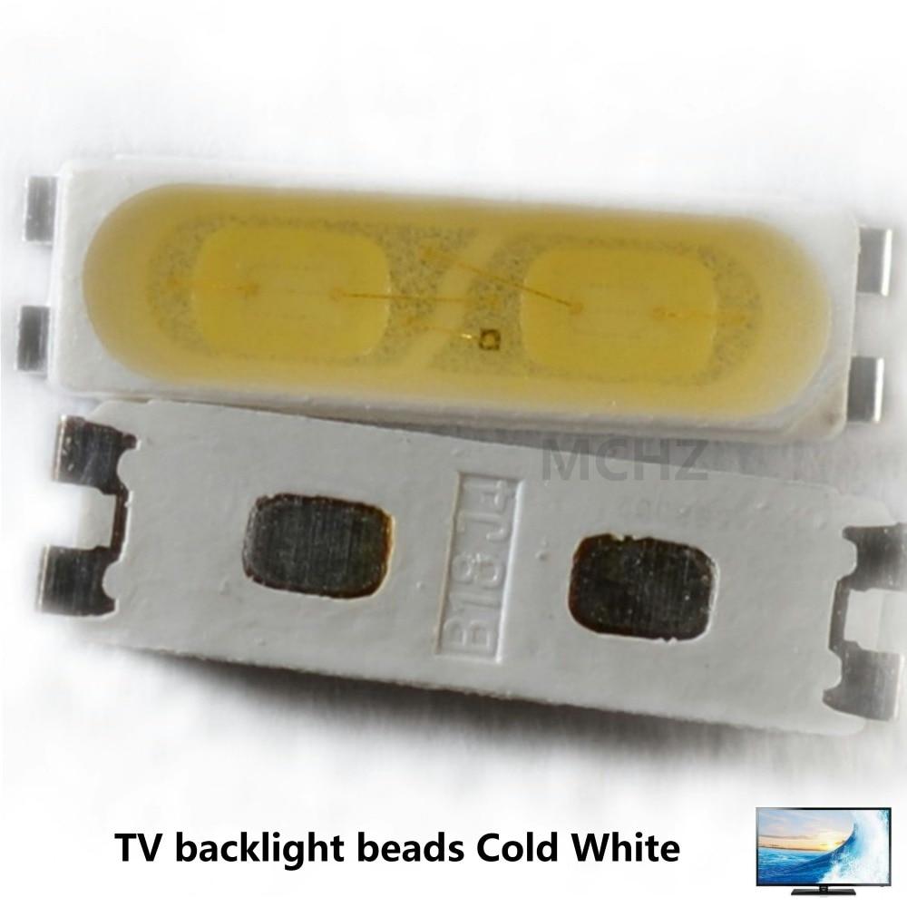 200pcs For LG Innotek LED LED Backlight 1.5W 7020 3V-3.6V Cool White 200LM TV Application LEWWS72R24GZ00