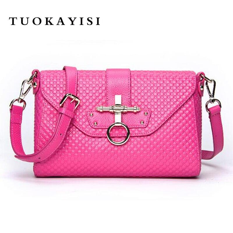 Мини цепи Для женщин Курьерские сумки натуральная кожа Для женщин сумка моды кисточкой клатчи на цепочке Для женщин Crossbody сумки для девочек
