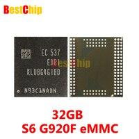3pcs Lot 100 Original New KLUBG4G1BD E0B1 For Samsung S6 G920F EMMC 32GB NAND Flash Memory