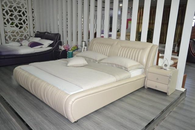 2016 Modern Soft Bed No Rushed New Arrival Bedroom Furniture ...