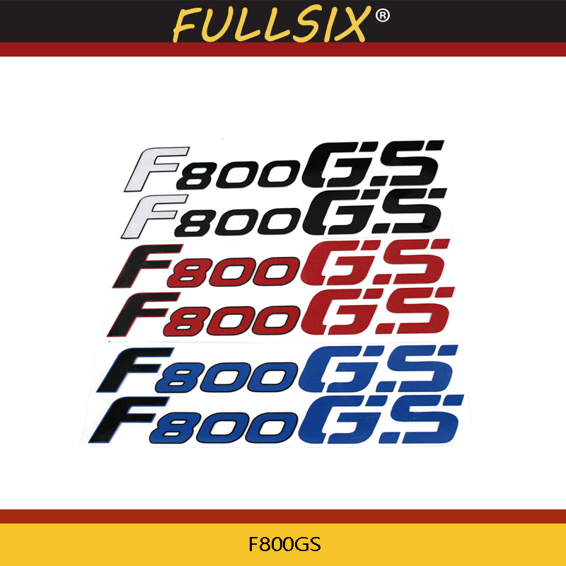 Motorcycle LOGO REFLECTIVE Stickers FAIRING Decals For BMW F800GS F800 GS