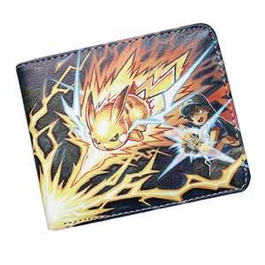 219069d53d891 anime Pocket Wallet Leather Money Bag Card Holder Purse