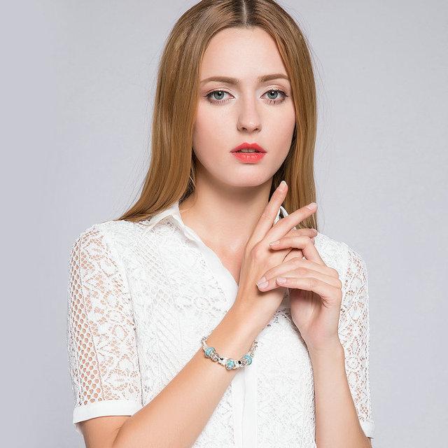 Pandora Style Charm Bracelet including 13 amazing Charms