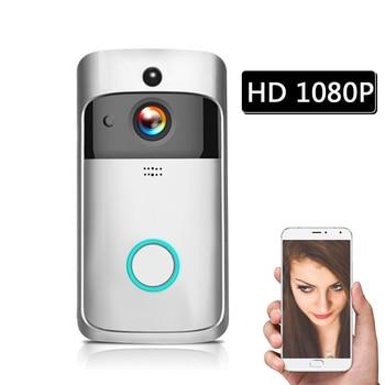 1080P Video Intercom Wireless Video Door Phone Visual WI-FI Door Bell WIFI Doorbell Camera for Apartments IR Alarm Security 10