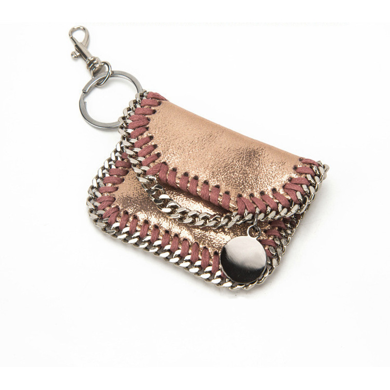 YIQIN BERYL Bag For Women Cute Fashion Keychain Chain Accessory Bags  Multicolor Keyring Clutches Bags For Women Girls