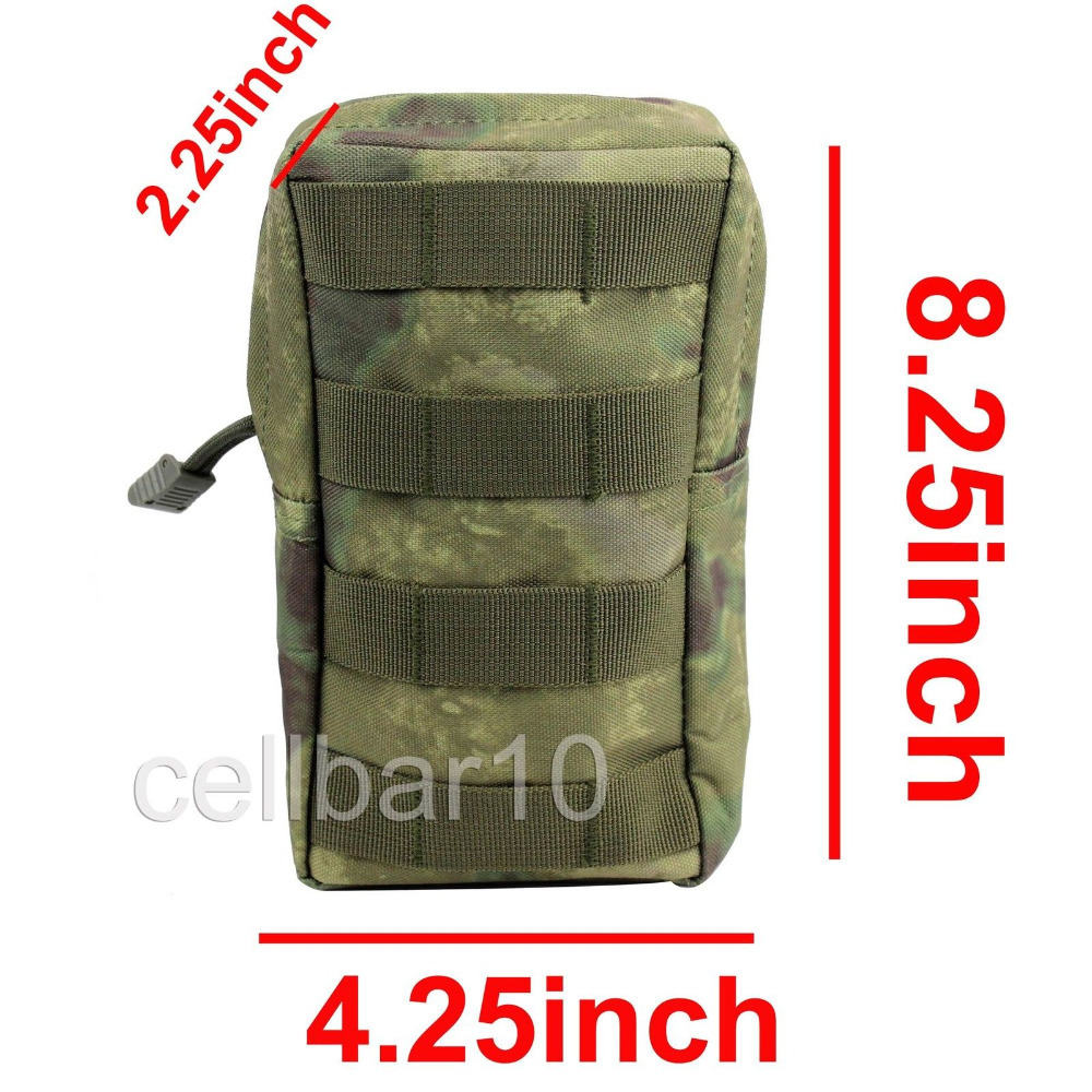 11 Color Outdoor Molle System Bag Airsoft Hunting Molle Waist Pouches Military First Aid Kit Tactical Medical Pouch Nylon Bags