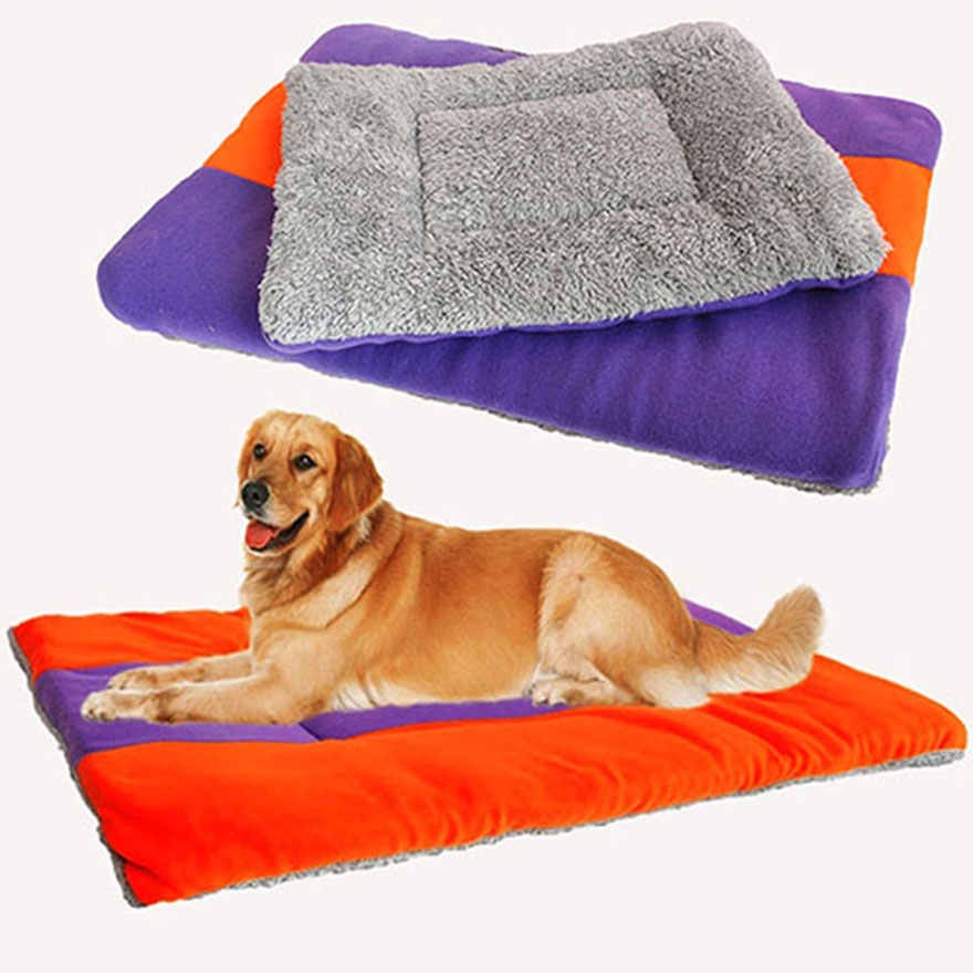 Pet Nest Dog Cat Puppy Cat House Blanket Soft Winter Warm Pad Cushion Mat Comfortable Dog Bed Sofa for Small Large Dogs 5 Size