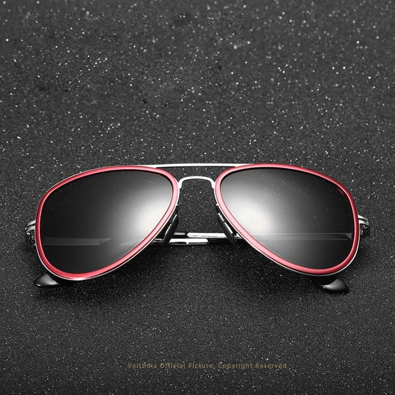 VEITHDIA Unisexe Polarisées Miroir de Conduite Hommes lunettes de Soleil  Oculos de sol masculino Lunettes de Soleil Mâle Lunettes Pour Hommes Femmes  6693 5d1d4f089b35
