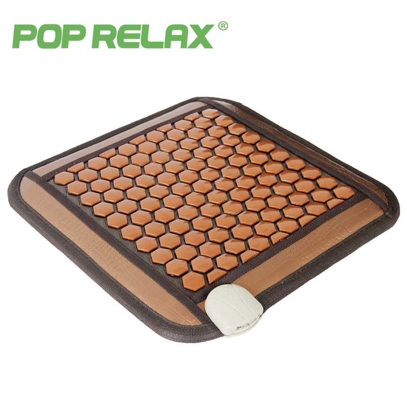 POP RELAX Korea seat mattress health care tourmaline germanium heating pad ion thermal physiotherapy stone mat thermal mattress