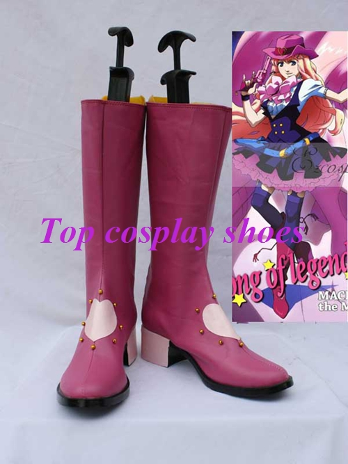 Freeshipping anime Macross Frontier Cosplay Sheryl Nome Cosplay Show Boots  light purple custom made for Halloween Christmas-in Shoes from Novelty &  Special ...
