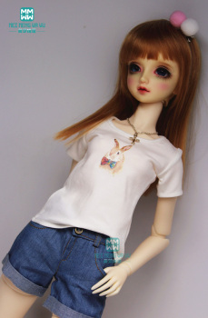 BJD doll clother fits 27cm--60cm 1/3 1/4 1/6 YOSD MSD SD BJD doll Variety Underwear T-shirt image