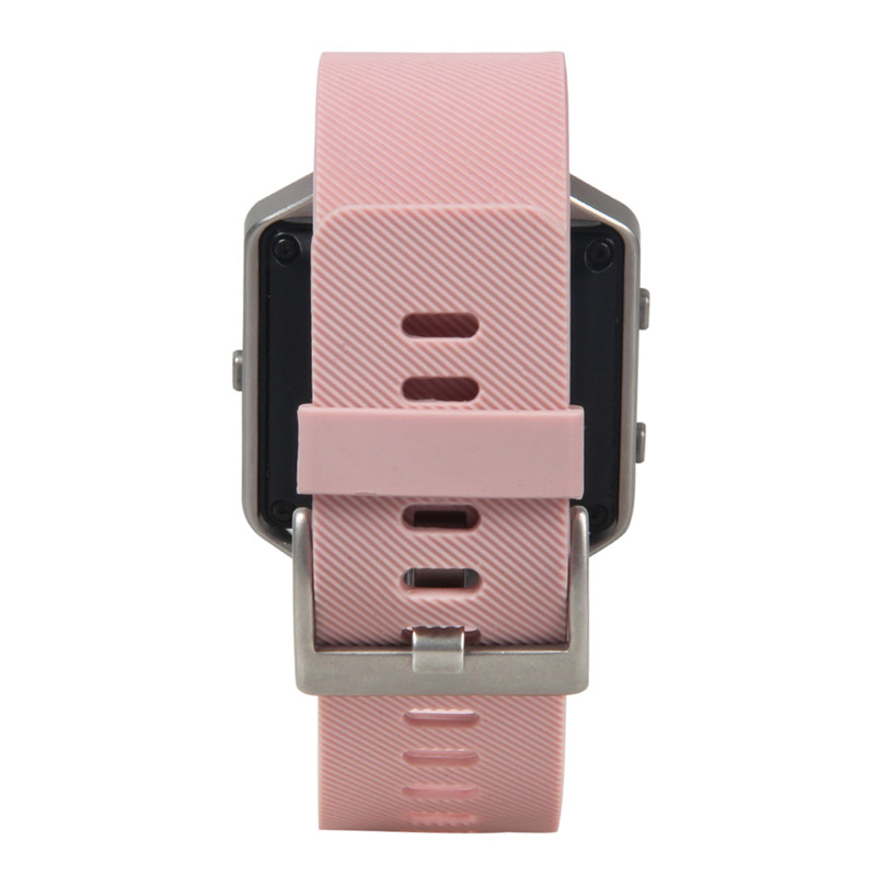 V Moro Soft Silicone Watch Bracelet For Fitbit Blaze Band Sports Tracker Strap Replacement Small In Watchbands From Watches On