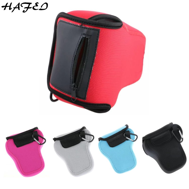 Accessories & Parts Hafei Neoprene Camera Soft Bag For Sony A7 A7r A7s A7rii A7ii Inner Cover Body Pouch Protective Case Black/blue/gray/rose/red